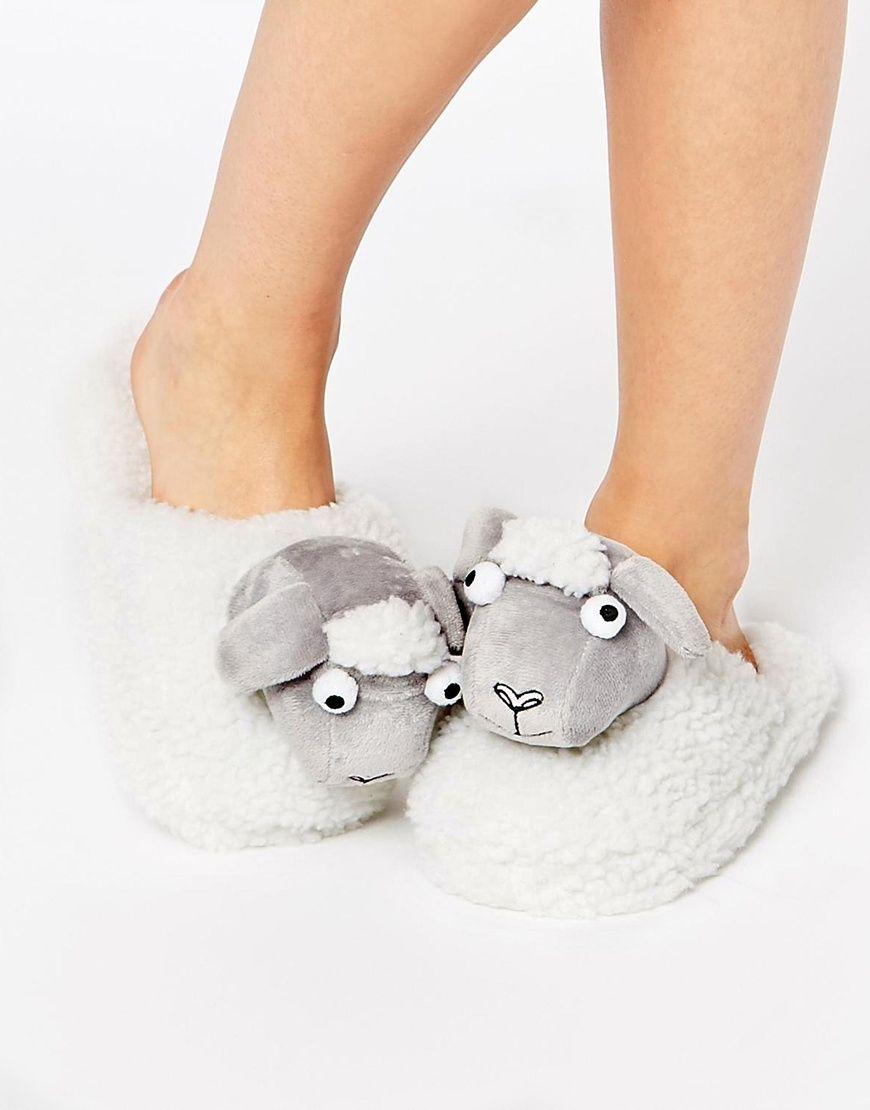 Buy Women Shoes / Asos Nessa Sheep Slippers