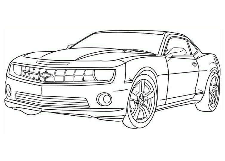 ausmalbilder autos chevrolet  cars coloring pages race