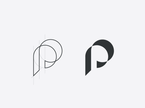 best 25 p logo design ideas on pinterest ci design. Black Bedroom Furniture Sets. Home Design Ideas