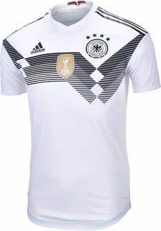 2018 adidas Germany Authentic Home Jersey for World Cup 2018. Buy it from  SoccerPro now. e6e6a71cf
