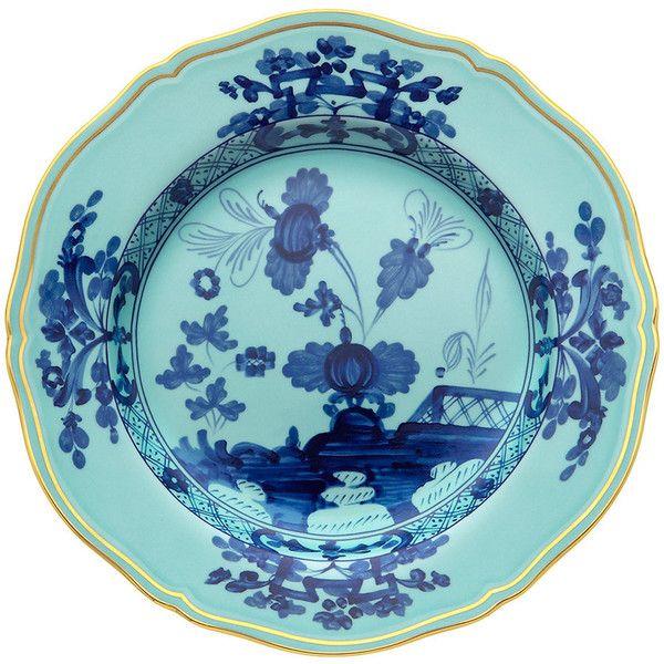 Richard Ginori 1735 Oriente Italiano Iris Dinner Plate (92 CAD) ❤ liked on Polyvore. Asian DinnerwarePorcelain ...  sc 1 st  Pinterest & Richard Ginori 1735 Oriente Italiano Iris Dinner Plate (92 CAD ...