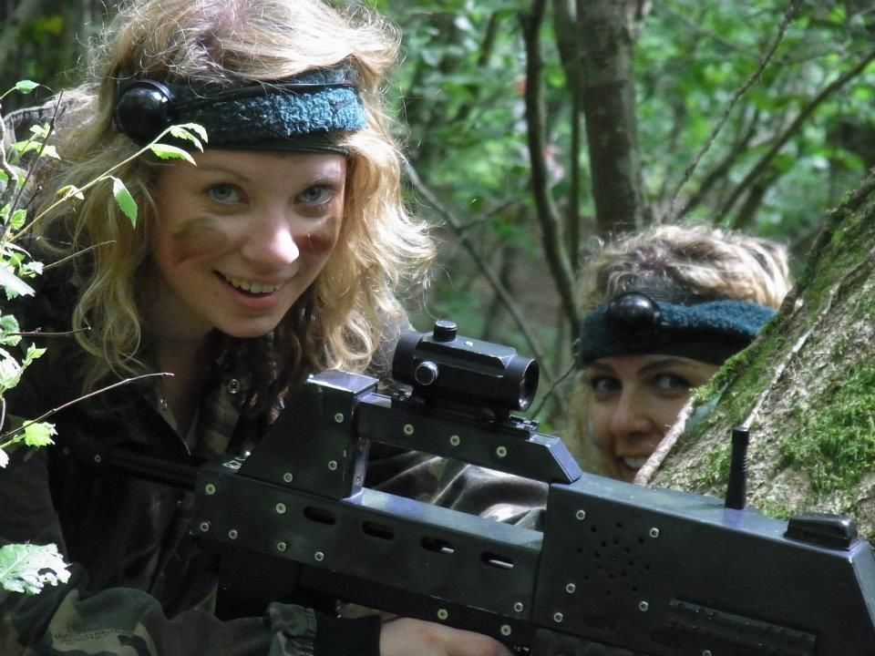 Supplier Showcase Outdoor Hen Party Activity With Battlefield Live New Forest