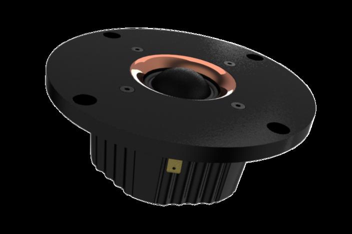 Seas 25mm millennium soft dome tweeter - SolidWorks, STL for