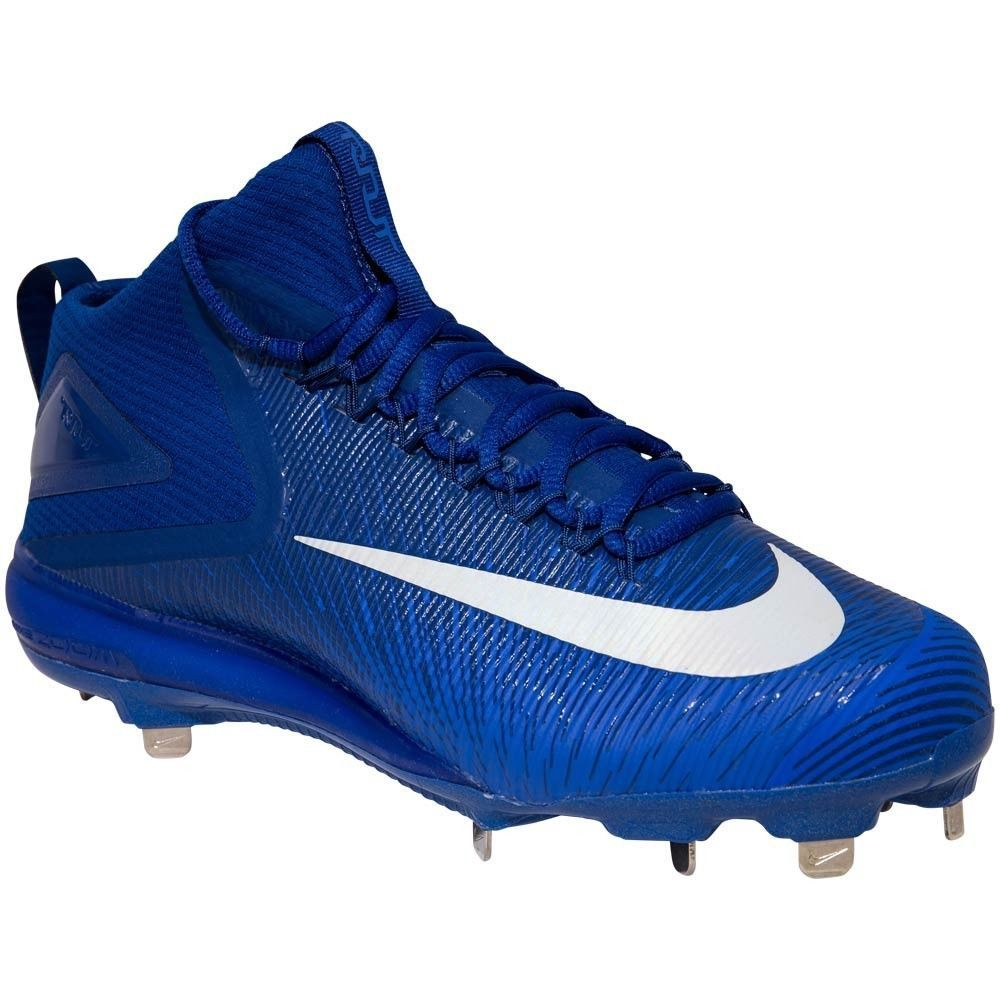 a56aca2cb7c NEW Mens NIKE Force Trout 3 Pro Metal Baseball Cleat Blue White Size 10  MSRP  85  Nike