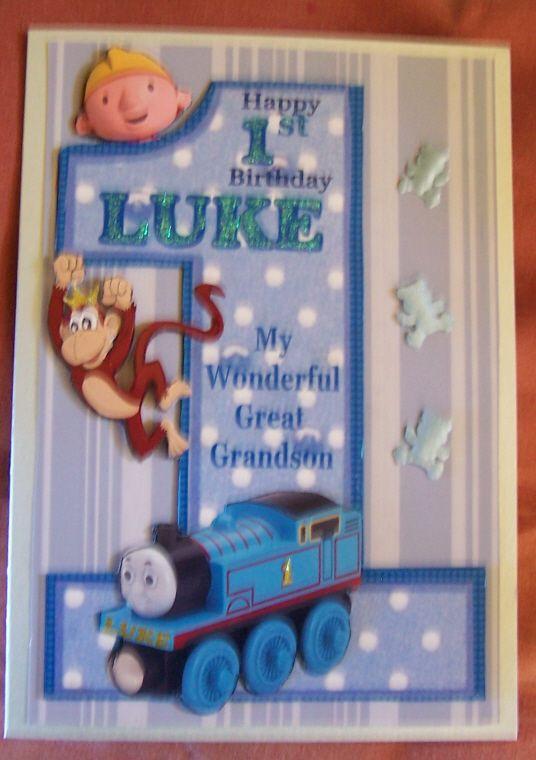 Great Grandson first birthday