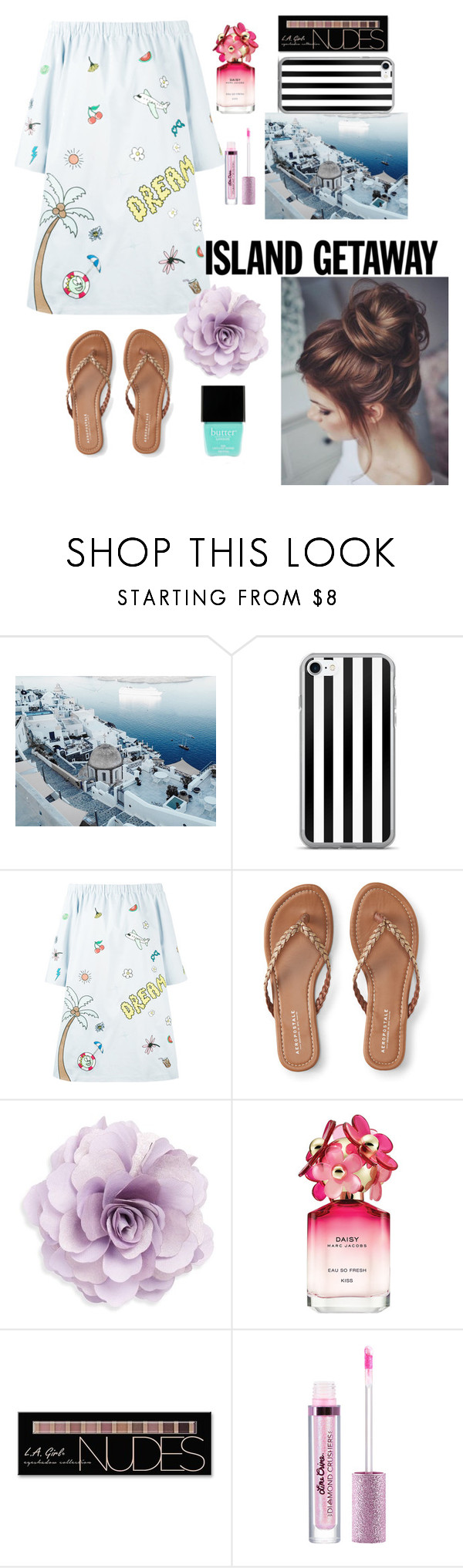 """Untitled #72"" by silviamachado20 ❤ liked on Polyvore featuring Mira Mikati, Aéropostale, Cara, Marc Jacobs, Charlotte Russe and Butter London"