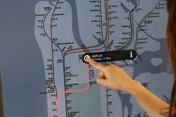 Nyc Mta Interactive Kiosks To Make Navigation Easy Long Ui S