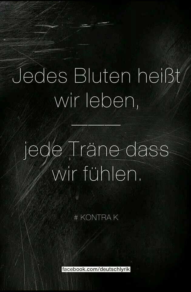 Lieblings Kontra K | Zitate | Pinterest | Quotes, Song quotes und Quotations &LM_43