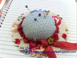 by Ida Chan, 604 Cloth, Paper, Scissors