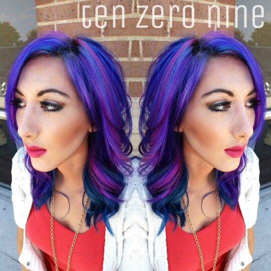 Nebula hair!!! ♡ www.facebook.com/tenzeronine