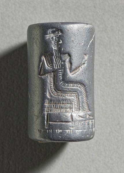 Cylinder Seal  Mesopotamia, circa 2000-1600 B.C.