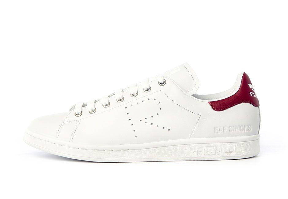 Raf Simons x adidas Originals Stan Smith: White/Red