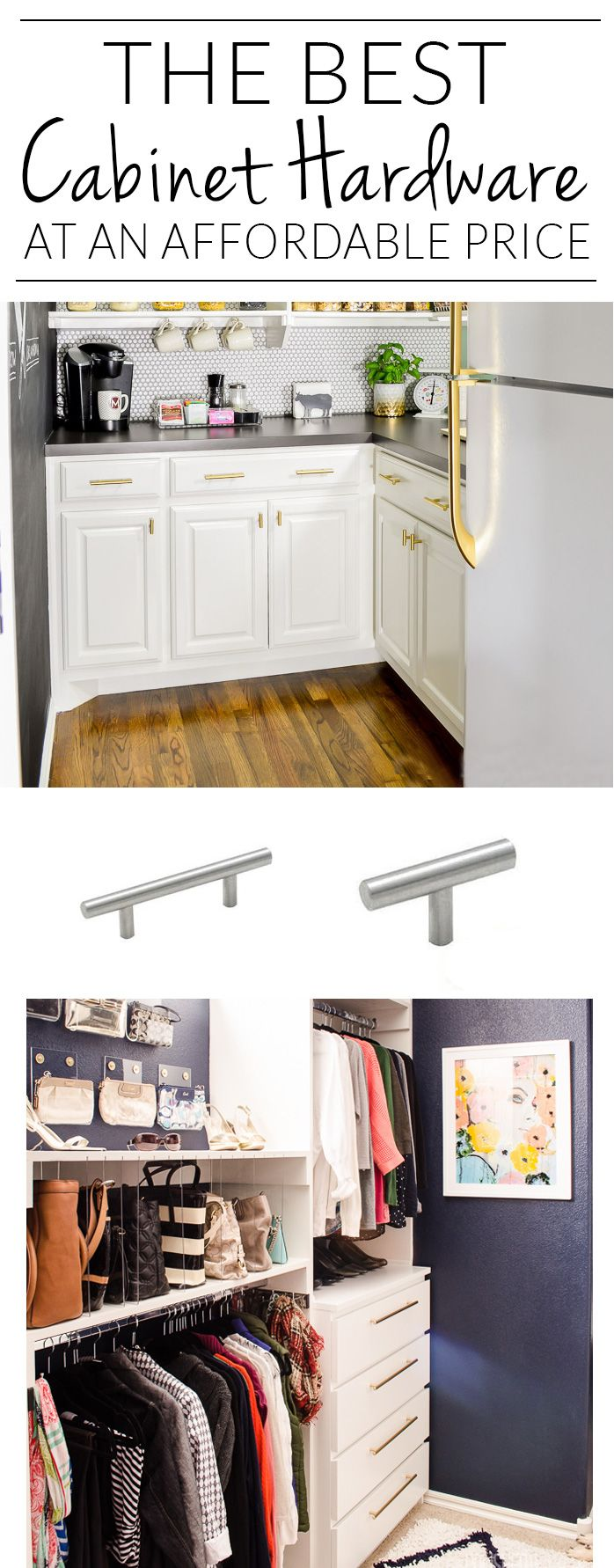 Source List For Cheap Cabinet Hardware From Single Screw T Bar Pulls All The Way Up To Jumbo 20 Pull Cheap Kitchen Cabinets Cheap Cabinets Diy Kitchen Remodel