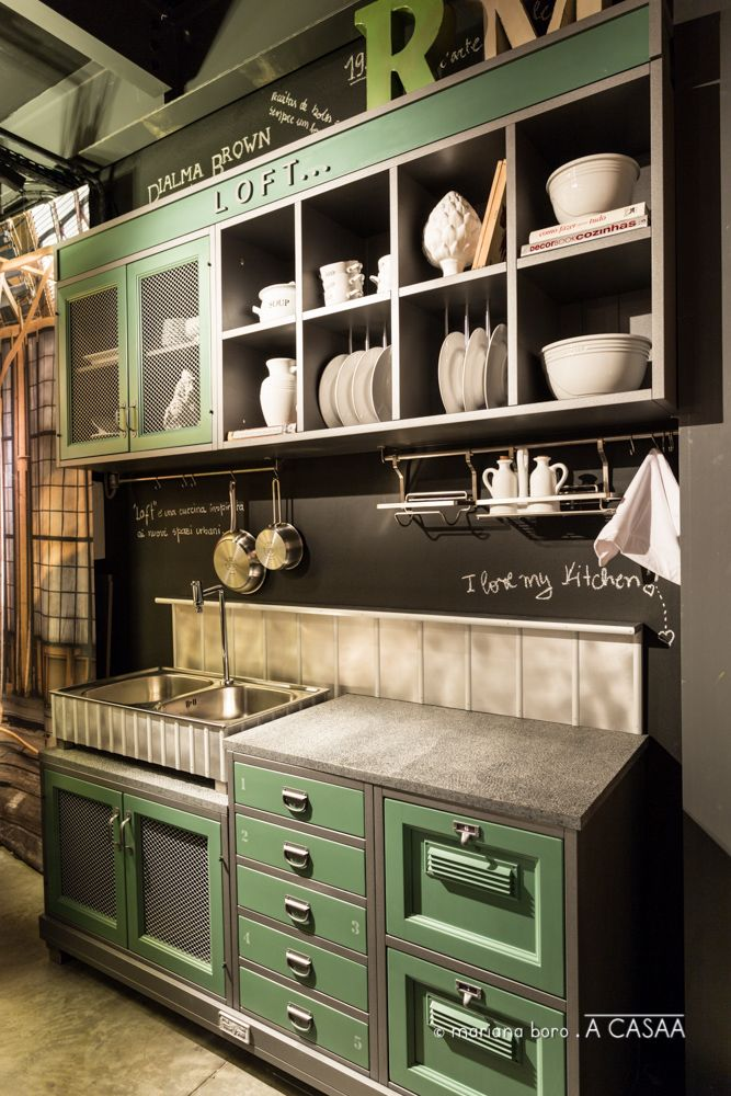 Cozinha marchi cucine kitchen pinterest kitchen loft kitchen and loft - Marche cucine economiche ...