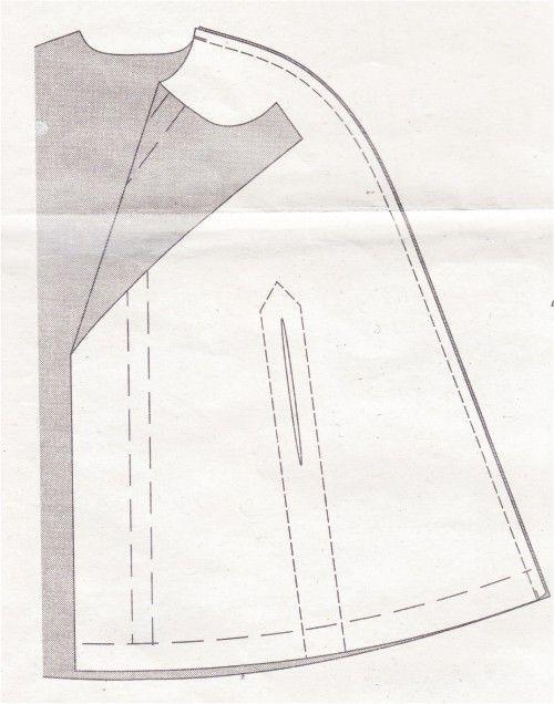 Kostenlose Nähanleitung/Freebook: Cape vom Burda-Schnitt Nr 7313 ...