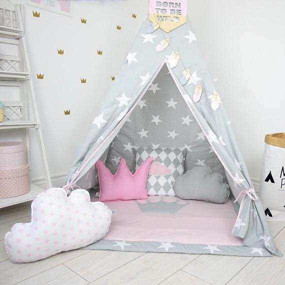 Teepee tende per bambini bambini in tenda di giocare