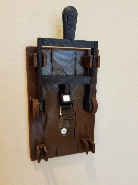 frankenstein light switch plate halloween medieval mad. Black Bedroom Furniture Sets. Home Design Ideas