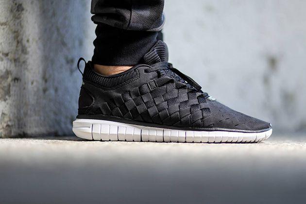 Nike Free Og Robes Tissées Noir