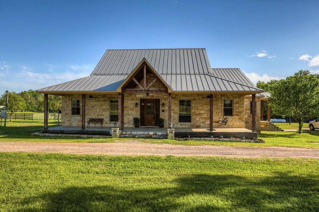 Texas limestone ranch style homes 3 home pinterest for South texas house plans