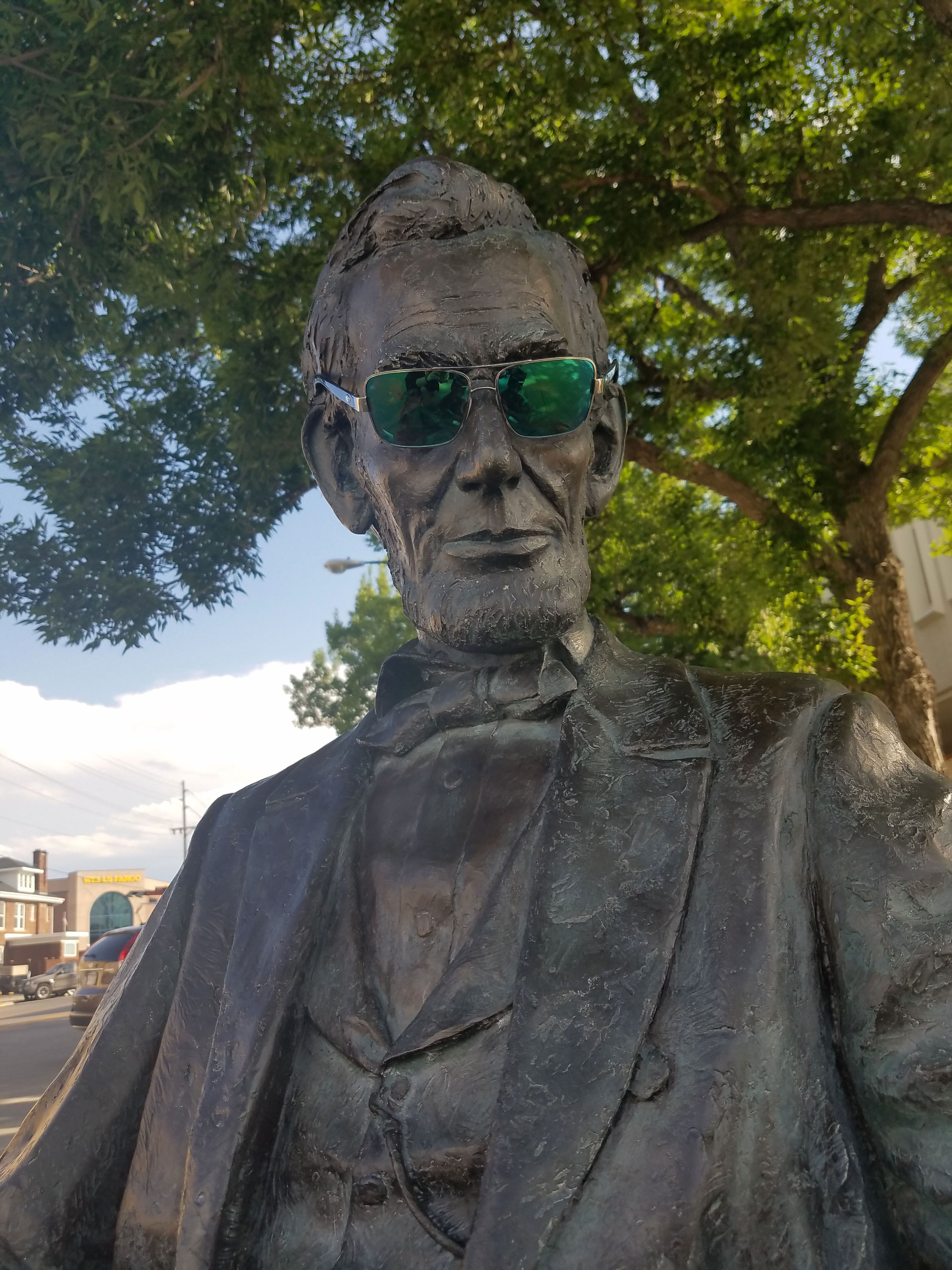 34fb1a1e33 Not all sunglasses are create equal... President Lincoln wearing North Turn  by Costa  Costasunglasses… www.facebook.com InfinityEyeCarePC