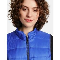 Photo of Samoon reversible quilted vest Royal Blue Ladies Gerry Weber