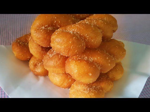 الدونات على الطريقة الكورية Twisted Korean Doughnuts رشا الشامي Food Cooking Gummy Candy
