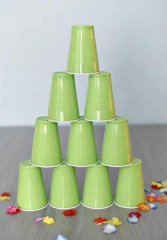 Chocolate Cupcake Base #hawaiianluauparty Hawaiian Luau Party Ideas #hawaiianluauparty
