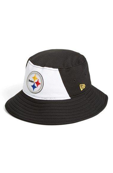 88f9955dffb New Era Cap  Pittsburgh Steelers  Bucket Hat