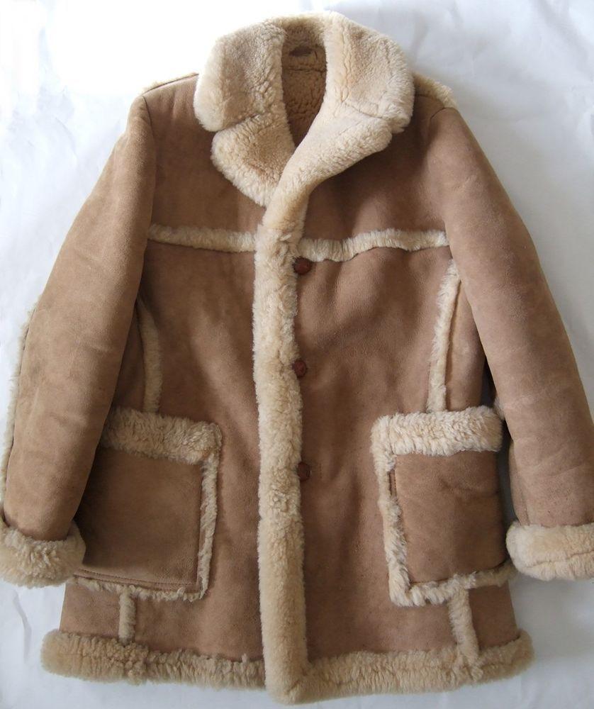 Sawyer Napa California Mens Sheepskin Shearling Coat Jacket Saks Fifth Avenue Shearling Coat Sheepskin Coat Coat [ 1000 x 838 Pixel ]