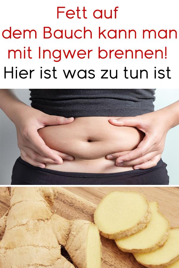 Ingwer-Diät zu verlieren