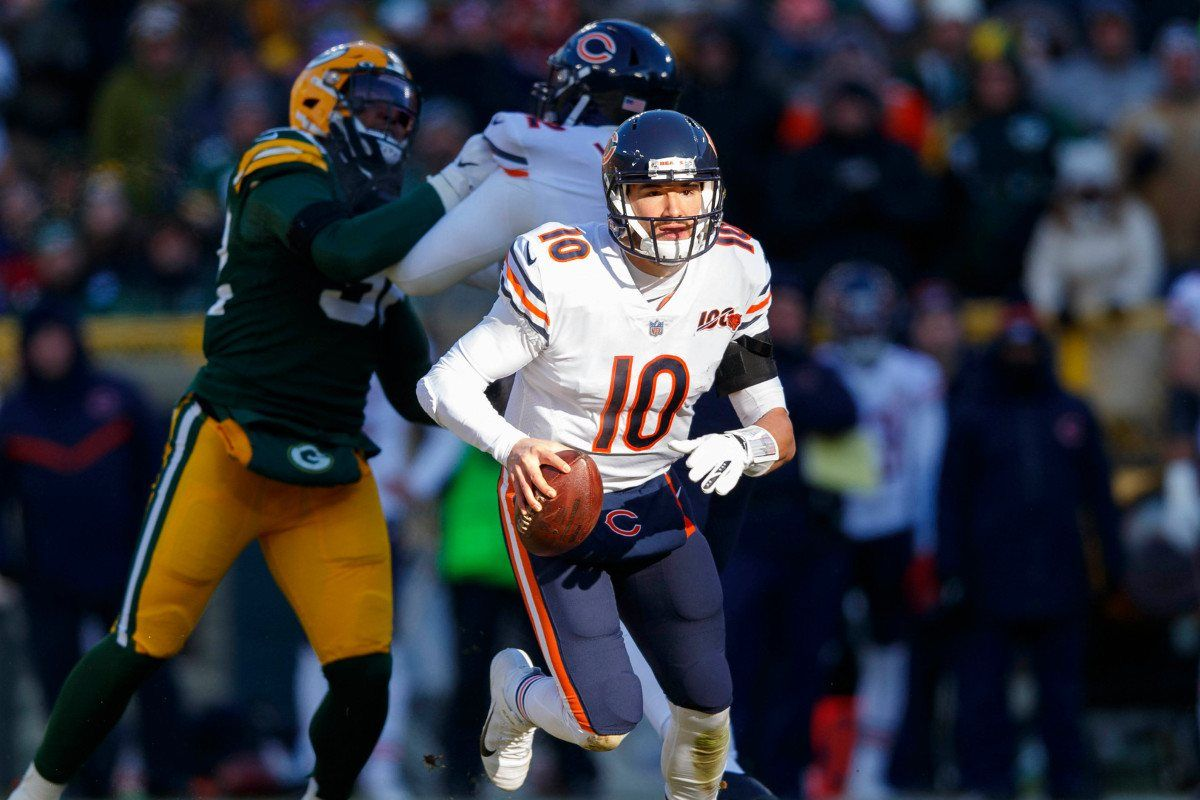 Chicago Bears Nfl Betting Preview Foles Or Trubisky Does It Matter In 2020 Chicago Bears Nfl Betting Usa Today Sports