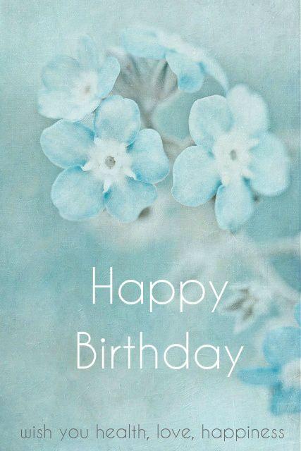 Hy Birthday Blue Fl
