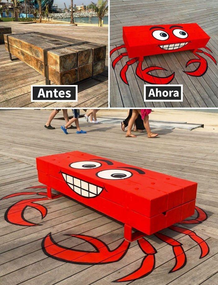Este artista usa objetos de la calle para hacerlos preciosos obras de arte