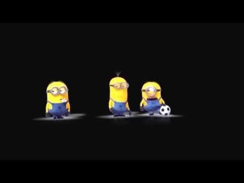 ▶ Minions Playing Football - YouTube