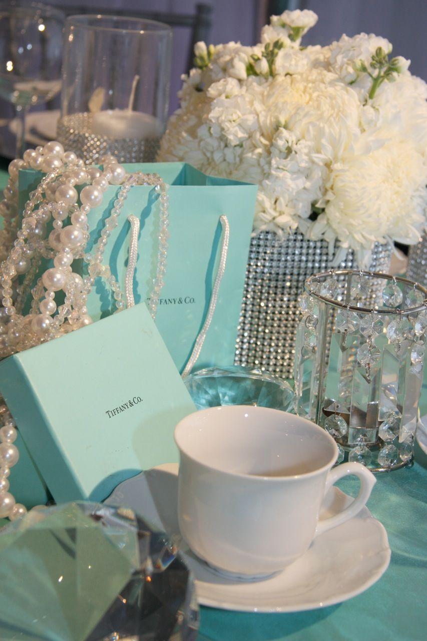 Tiffany Inspired Wedding Decor | Pinterest | Azul tiffany, Despedida ...