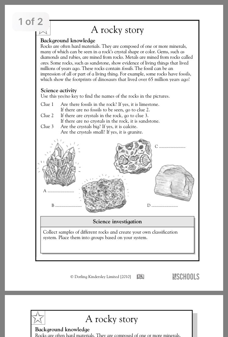 Pin by Carrie Emerson on ICC | Science worksheets, 4th grade ...