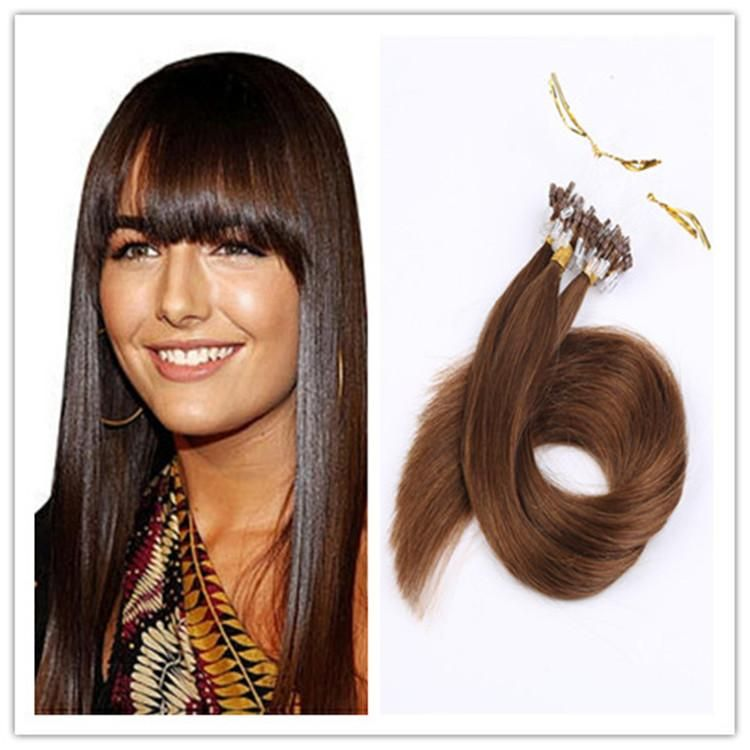 Cheap 18 28inch Loop Hair Extensions Micro Ring Hair Real Remy Human