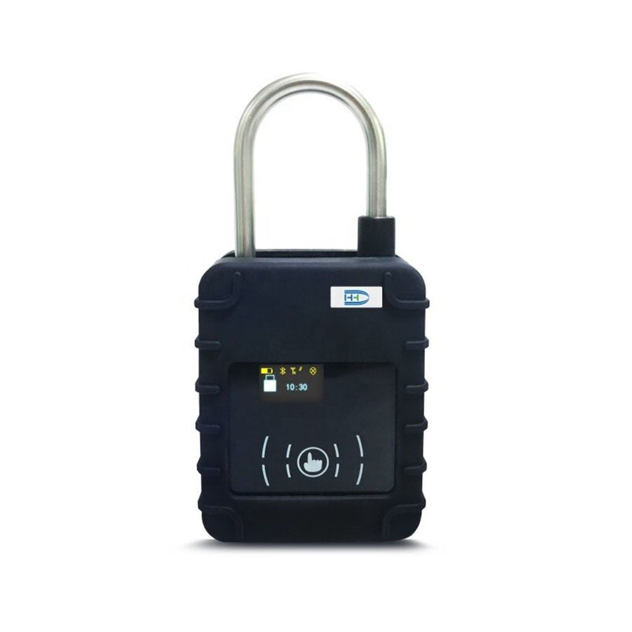 IP67 electronic timer msc container tracking padlock gps container