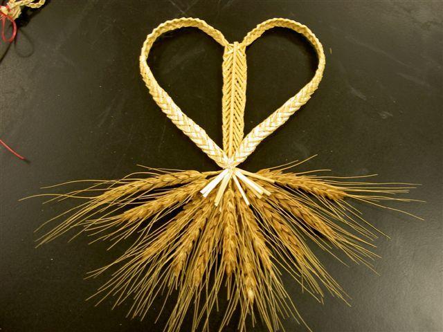 Wheat Weaving How To Make Ornaments Weaving Art