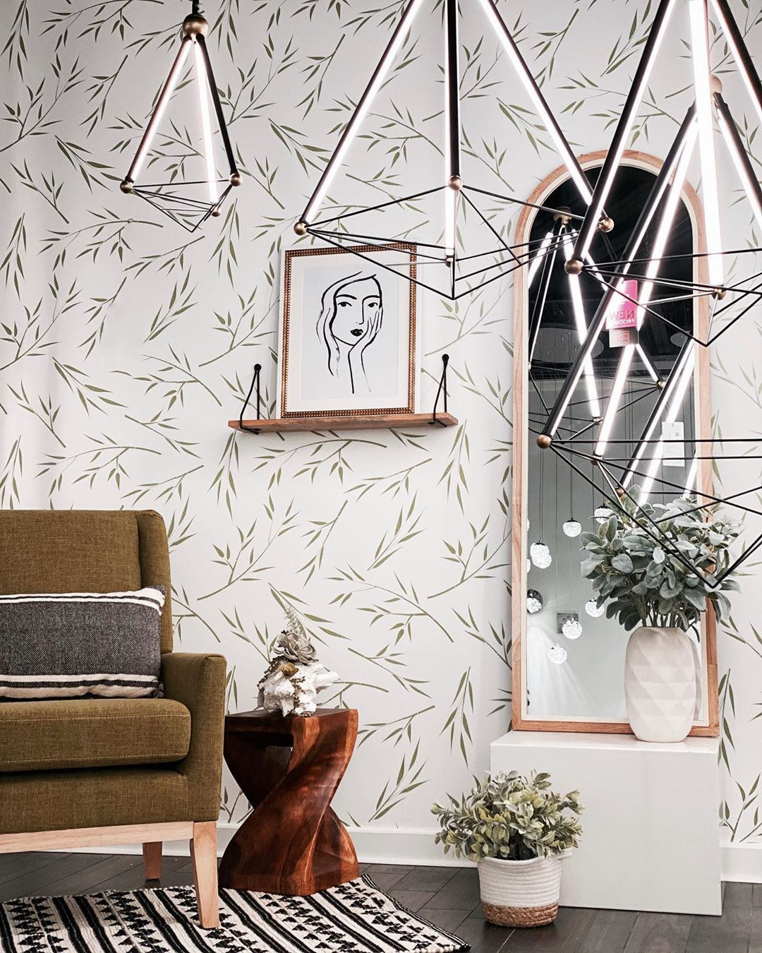 Tranquility Garden Zen Wallpaper Bohemian Wallpaper Inspire Me Home Decor