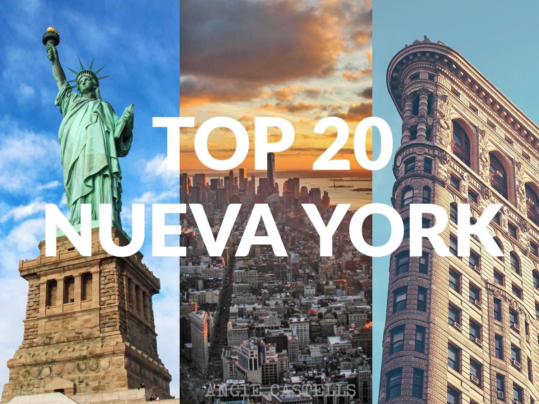 Top 20 de Nueva York: cosas que tienes que hacer sí o sí   Nueva ...