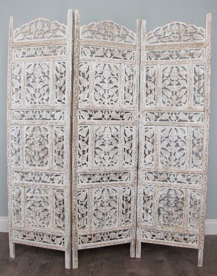 White Moroccan Screen Home Design In 2019 Room Divider