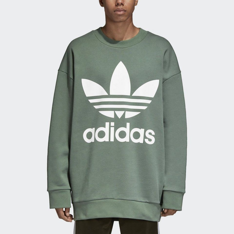 adidas Originals Longpullover »Oversize Trefoil Sweatshirt