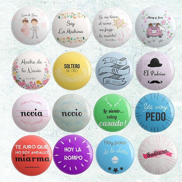 Pack de 50 chapas con frases divertidas para que luzcan ... - photo#50