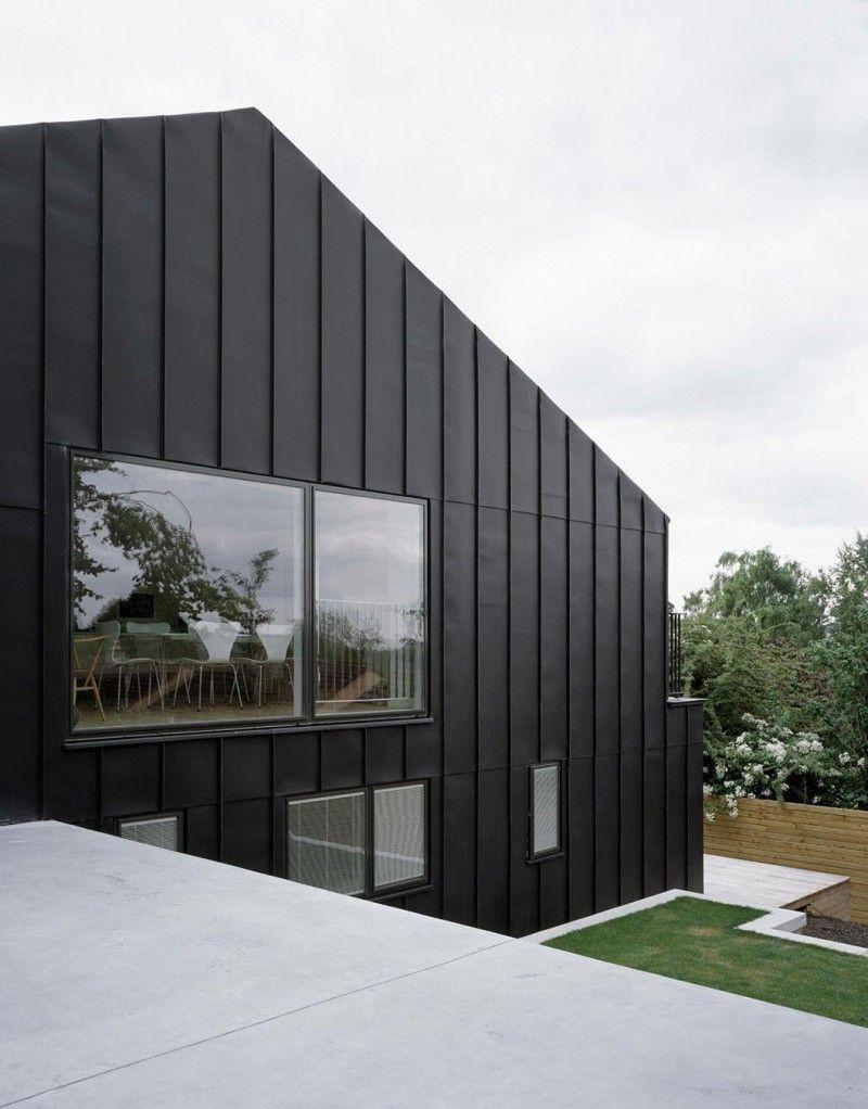 Uncategorized Black Facade santiagomodern house holzfassade schwarz house