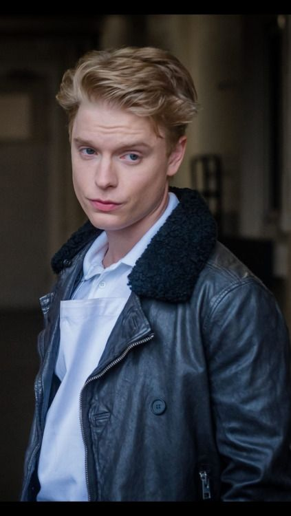 Freddie Fox  - 2018 Regular blond hair & alternative hair style.