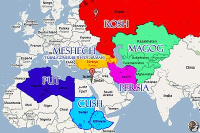 Articles - Prophecy - Tribulation - Timing Gog-Magog   Bible mapping, Revelation bible study, Bible