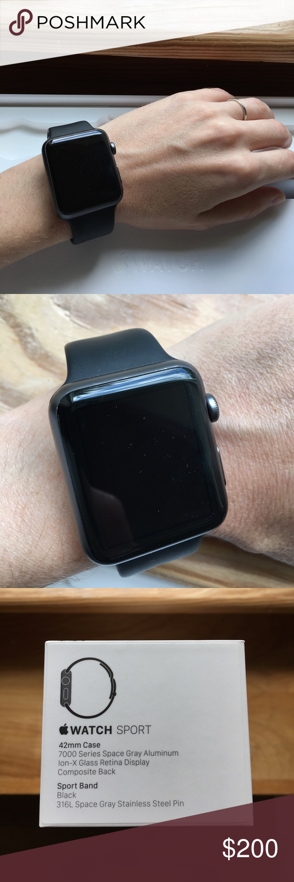 42mm Apple Watch Case, X-Doria Defense Edge Premium Aluminum & TPU Bumper Frame - Compatible with Apple Watch Series 1, Series 2, Series 3 and Nike+, (Silver/Grey)