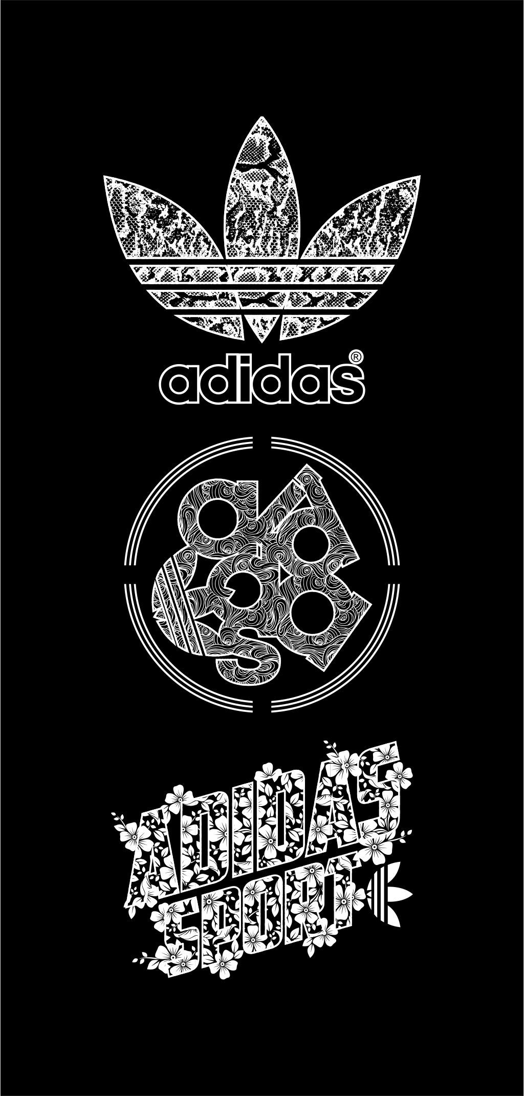 Mejor whisky Establecimiento  Adidas Logo | Adidas logo wallpapers, Adidas art, Black panther art