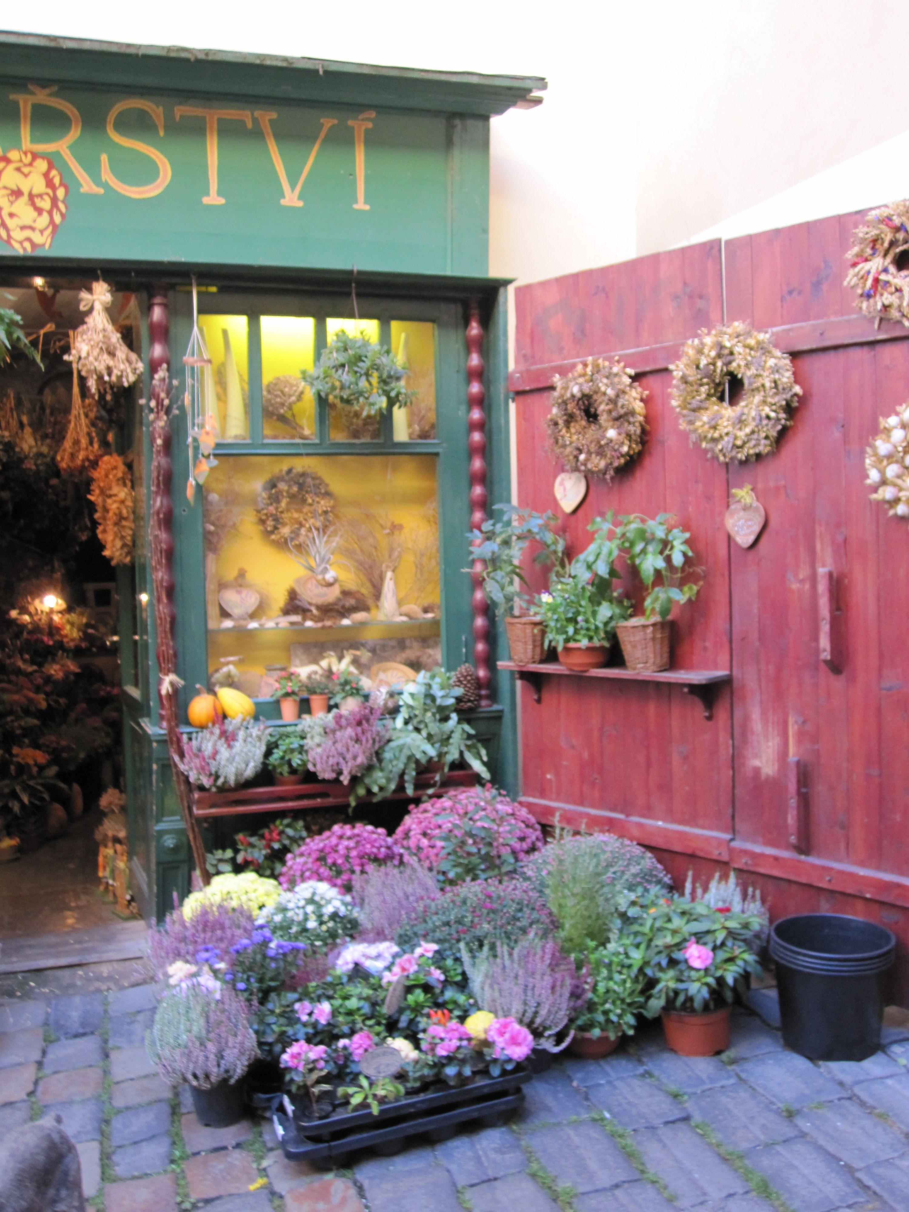 Lovely flower shop in prague been lucky enough to visit lovely flower shop in prague izmirmasajfo